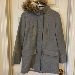 Charlotte Russe Gray Utility Coat 🧥